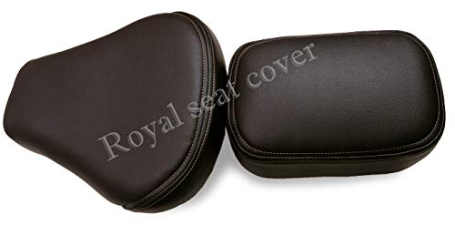 Generic Artifitial Leather Cover for Royal Enfield (Brown)