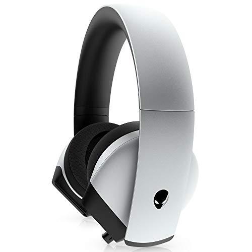 ALIENWARE 7.1 ゲーミングヘッドセット 高音質ハイレゾ ノイズキャンセリングマイク付き 3.5mm USB(DAC) AW510H ルナライト 2年保証