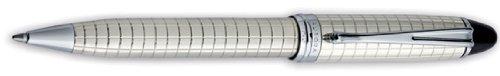 Aurora Ipsilon Quadra Silber Muster Kugelschreiber–au-b34q