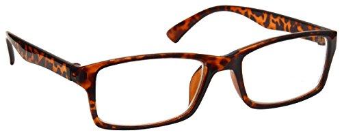 Uv Reader Gafas De Lectura Marrón Carey Corto De Vista Gafas Distancia Para Miopía Hombres Mujeres Uvm092Br -2,50 50 g