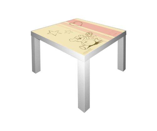 STIKKIPIX Knuddelwelt Möbelsticker/Aufkleber für den Tisch Lack von IKEA - IM37- Möbel Nicht Inklusive