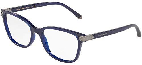 Dolce & Gabbana 0DG5036 Monturas de gafas, Opal Blue, 51 para Mujer