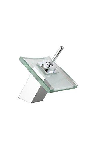 DP Grifería - Grifo monomando de lavabo cascada, modelo Orquídea