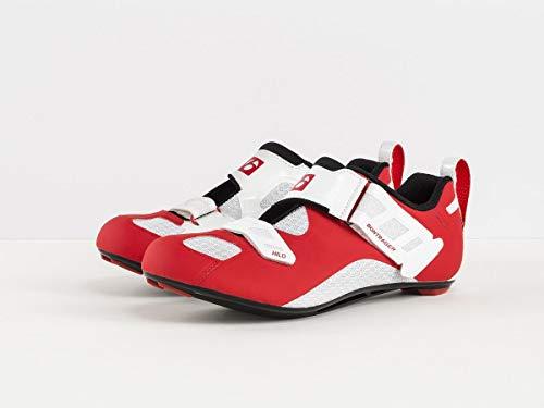 Bontrager Hilo Triathlon Fahrrad Schuhe rot/weiß 2019: Größe: 41