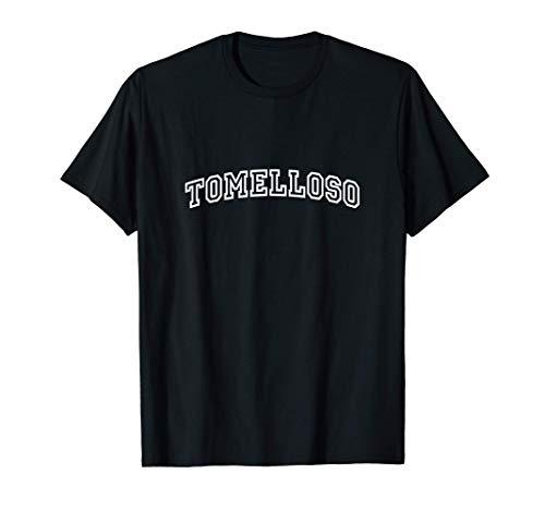 Tomelloso Vintage Retro Sports Arch Camiseta