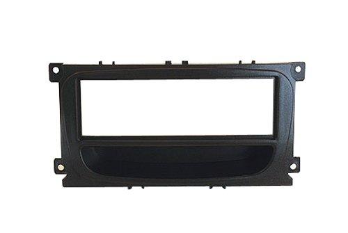 Autoleads FP-07-12 Adaptateur de façade d'autoradio Single DIN pour Ford Mondeo Focus Smax Noir