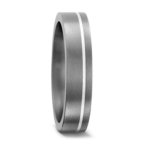 Partnerring Titan, Silber, Marke: TitanFactory, Ringbreite: 5 mm, Zielgruppe: Twogether Grösse 52