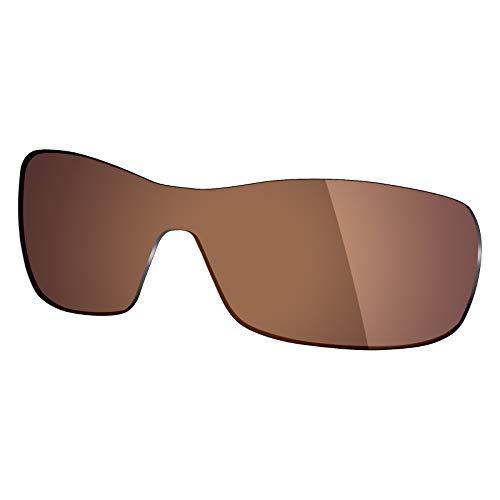 Mryok Ersatzgläser für Oakley Antix - Optionen - Braun - Einheitsgröße