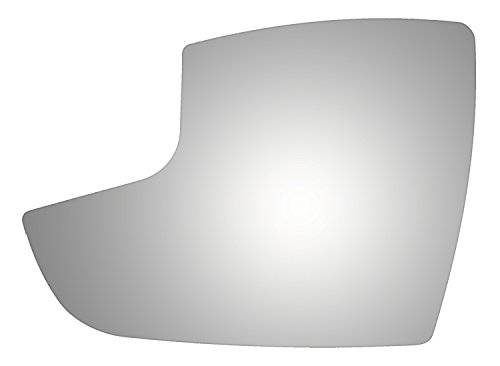 Burco 4434 Lower Flat Driver Side Replacement Mirror Glass for 12-16 Ford Focus (2012, 2013, 2014, 2015, 2016)