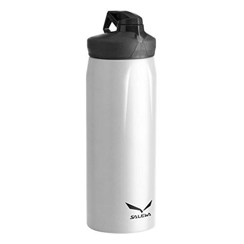 SALEWA Erwachsene Thermosflasche 0.5 L, weiß, L/XL