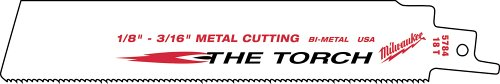 Milwaukee GIDDS2-2493805 Sawzall Blade 18 Teeth per Inch 9' Length - 25 Pack