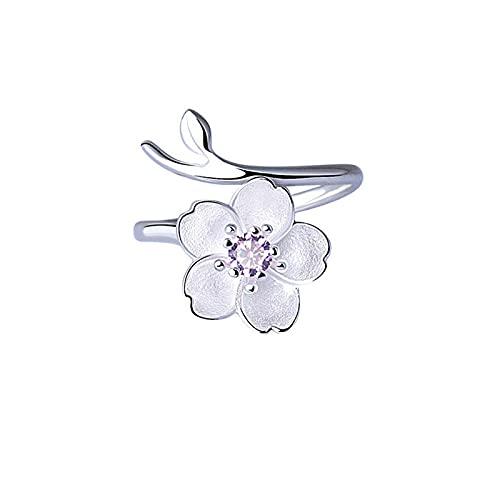 Anillo abierto azul de cristal sirena burbuja anillos abiertos para las mujeres joyería creativa de la moda 10