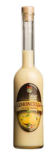 Distilleria Jannamico Golden Cream Limoncello - Zitronenlikör - Cremiger Likör aus Limoncello und italienischer Sahne. Liköre (1 x Bottle), 500 ml