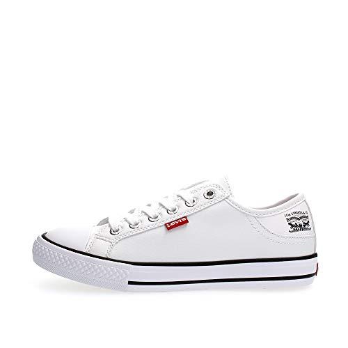 Levis 222984-794-50, Zapatos de Tenis para Mujer, White, 39 EU