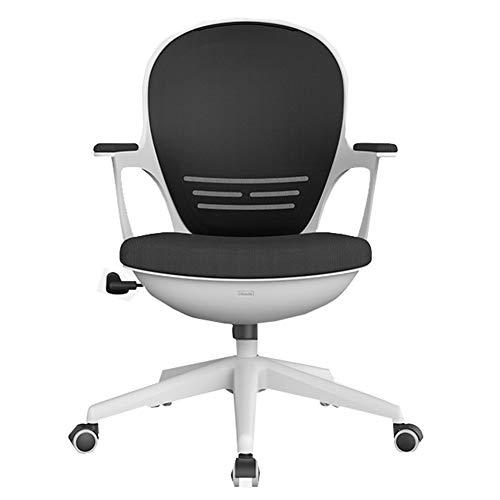 Ergonomischer Schreibtischstuhl, Hochwertiger Gaming Stuhl, Computer-Stuhl, Stuhl Büro, Eggshell Stuhl, Study Chair WXIFEID (Color : White)