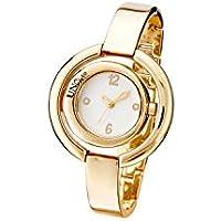 """UNO de 50""""Time's up REL0141BLNORO0U - Reloj para Mujer bañado en Oro."""
