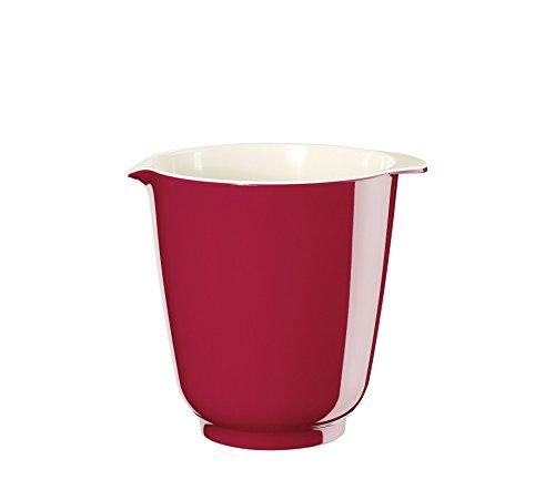 Küchenprofi 2505301410 Bol mélangeur Bake 1 L, Accessoire de Cuisson, Mélamine, Rouge, 16 x 15 x 13 cm, 6 unités