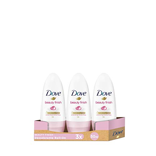 Dove Deo Roll-On Beauty Finish, 3er Pack (3 x 50 ml)