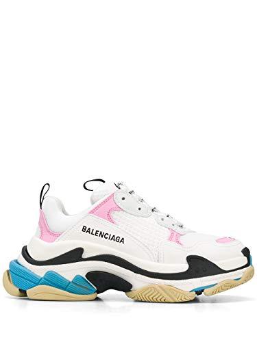 Balenciaga Luxury Fashion Damen 524039W09OM9054 Weiss Leder Sneakers   Frühling Sommer 20