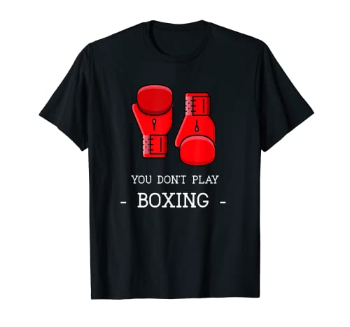Lustiger Boxer mit englischer Aufschrift...