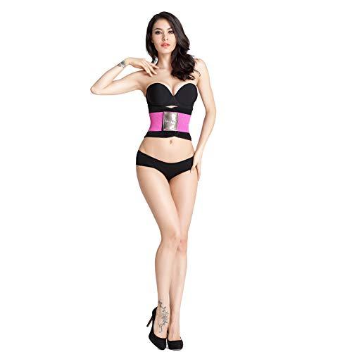 Huanxin Women Waist Trimmer Belt, Corset Fat Burner Sweat Trimmer Weight Loss Wrap, Best Abdominal Trainer,a,S