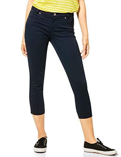 Street One Damen Yulius Hose, deep Blue, W40/L26