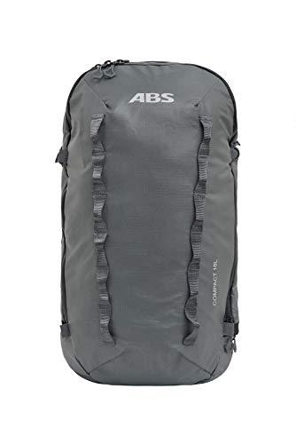 ABS, uniseks, lawine rugzak voor P.Ride Compact en S.Light Base Unit, inhoud 18 liter, vak voor veiligheidsuitrusting, ski- en snowboardhouder, helmnet