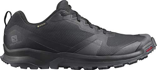 Salomon Herren Trail-Running-Schuhe, XA COLLIDER GTX, Farbe: Schwarz (Black/Ebony/Black), Größe: EU 48