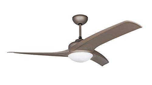 Orbegozo CP 93105 Ventilador de techo con luz, mando a distancia, 105 cm de diámetro, 3 velocidades de ventilación, silencioso, 50 W
