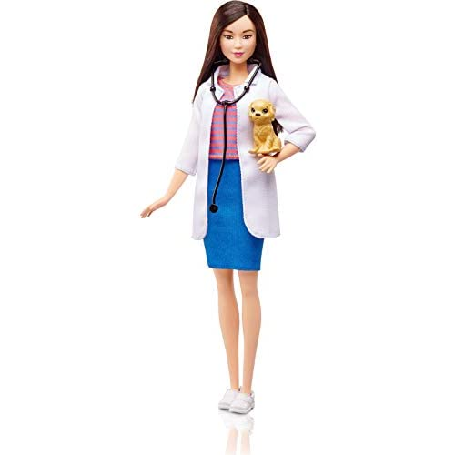 Barbie- Bambola Veterinaria, DVF58