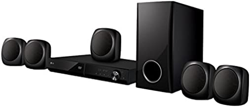 LG LHD427 Bluetooth Multi Region Free 5.1-Channel DVD Home Theater Speaker System w/ Free HDMI Cable, 110-240v