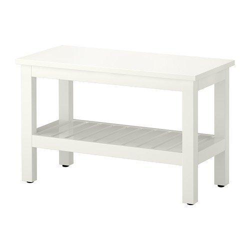 Ikea hemnes Banco en Color Blanco