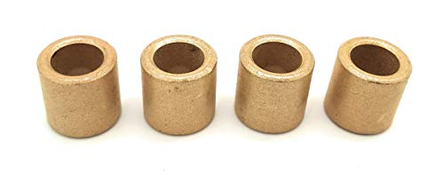 Turmberg3D - 4x Sintered Bronze bush bearing 8/12/12 mm cylindric form
