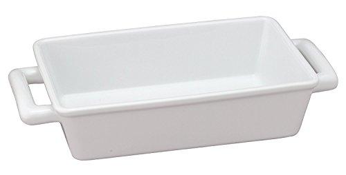 Harold importación Co 98059HIC rectangular rectangular individual Lasagna Pan, porcelana),...