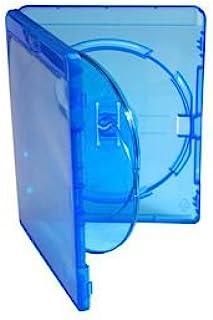 Amaray - Estuche triple Blu Ray (25 unidades, incluye una bandeja interior de 14 mm, embalado en embalaje de la marca Drag...