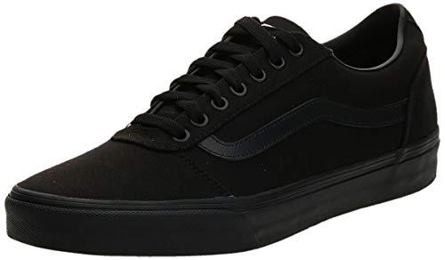 Vans Herren Ward Canvas Sneaker, Schwarz Canvas Black , 40 EU (6.5 UK )