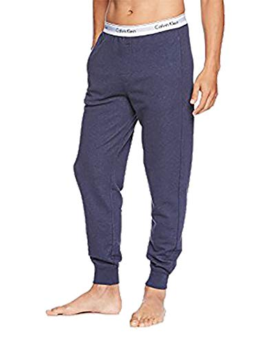 Calvin Klein Herren Modern Cotton Lounge Jogger Pant Pyjamahose - blau - XL