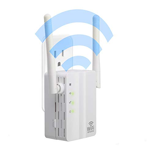 KKshop Wireless WLAN Repeater, WiFi Range Extender 300Mbps WiFi Signal Booster Multifunktion WLAN-Signal Verstärker Wireless Access Point 2.4GHz mit WPS Funktion