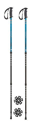Ferrino GTA, Bastoncini da Trekking Blu, 60-135 cm