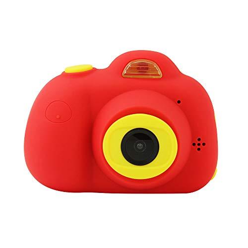 SMART SPACE D6子供用デジタルカメラ ミニカメラ キッズカメラ TFカード付き2.0インチIPS画面 1800万画素 H...