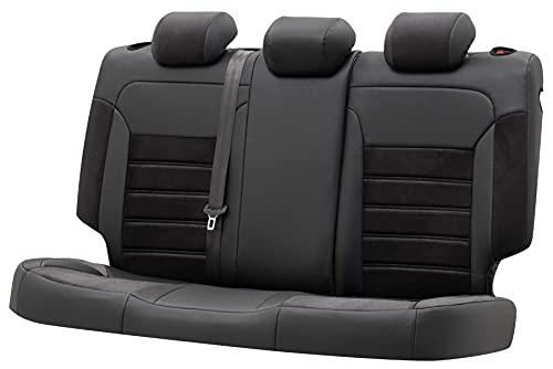 Walser Sitzbezug Bari, Schonbezug kompatibel mit VW Tiguan (AD1) 01/2016-Heute, 1 Rücksitzbankbezug für Normalsitze