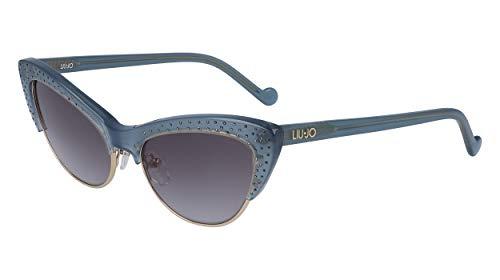 Liu Jo gafas de sol LJ721SR 41764 431 azul gris tamaño de...