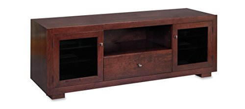 Standout Designs Haven EX 72-inch Solid Wood TV Stand/TV Console/Media Console for Flat Screen TVs to 80-inch (Espresso on Cherry)