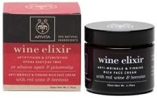 Apivita Wine Elixir Anti-Wrinkle & Firming Rich Texture Face Cream by APIVITA S.A
