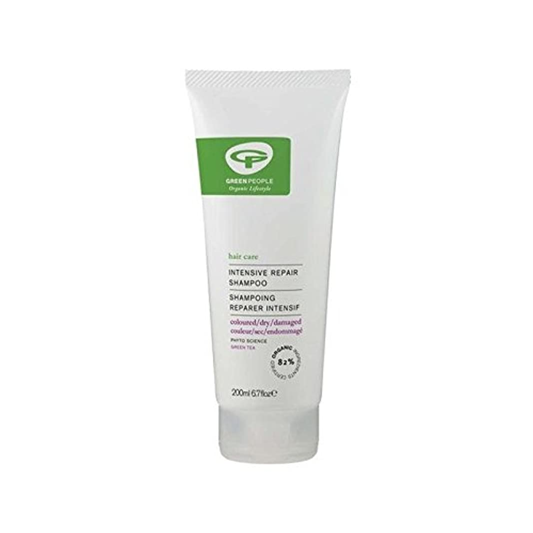 恨み世論調査放射能緑の人の集中リペアシャンプー(200ミリリットル) x2 - Green People Intensive Repair Shampoo (200ml) (Pack of 2) [並行輸入品]
