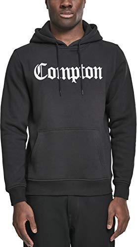 Mister Tee Herren Kapuzenpullover Compton Hoodie, Schwarz (black), Gr. M