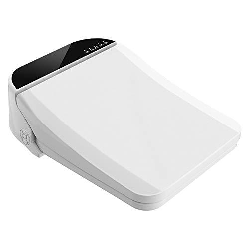 BCXGS Sedili per WC Bidet Elettrico Intelligente con Telecomando, Deodorization, asciutta, Massaggi, Antibatterico per Pulizia ugello, Morbido, Caldo e Chiusura Sedile riscaldato, 510X380X140mm