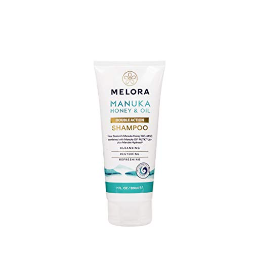 NZMAT Melora Double Action Shampoo, 207 ml
