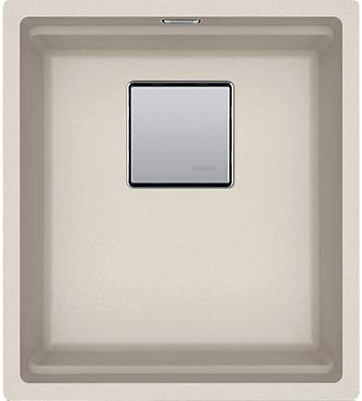 Franke Kubus 2 KNG 110-37 Fragranit Granit-Spüle + Küchenspüle + 1 Becken + 1 Becken + 1 Becken
