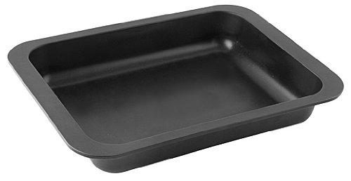 Zenker oven bakblik speciale koken 33x25x5 cm in zwart, email, 33 x 25 x 5 cm